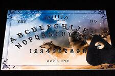 Wooden Ouija Board game & Planchette & Detailed Instruction EVP spirit hunt