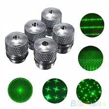 5Pcs Converter Light Refraction Head For Green Red Blue Laser Pointer Pattern