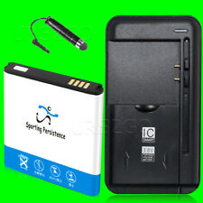 For Replacement Samsung Galaxy S II SGH-T989 EB-L1D71BA Battery Travel Charger