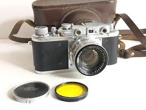 very rare almaz TSVVS fed 1950 No 465 Sonnar 2/50