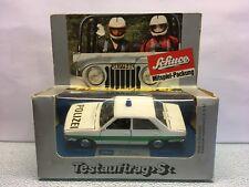 Diecast Schuco Audi 80 Polizei/Police 1:43 White Excellent Condition in Box