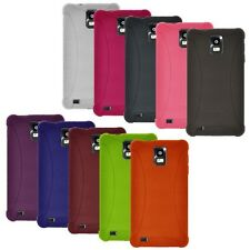 NEW AMZER SILICONE SOFT SKIN JELLY CASE COVER FOR SAMSUNG INFUSE 4G I997