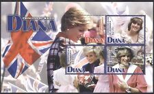 Dominique 2010 Diana/Princess of Wales/ROYALTY/ROYAL/personnes 4 V M/S (n40065)