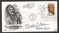 Marsha Hunt, Gale Storm & 2 others on 1984 20c FDC