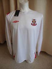 Lincoln City Long Sleeve Away Football Shirt by Umbro - Large - BNWT