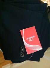 NWT Speedo Axcelerate Woman Black Capri Pants Sz M