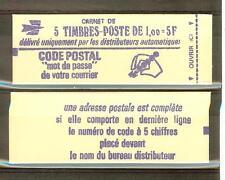CARNET TYPE MARIANNE DE BEQUET GOMME TROPICALE 1 FRANC N° 1892 C1 a**  COTE € 38
