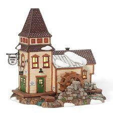 "Department 56 ~ New England Village ""Pembroke Textile Mill"" ~ Mib ~ Animated"