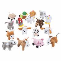 Farm Stuffed Animals Assortment - Toys - 50 Pieces