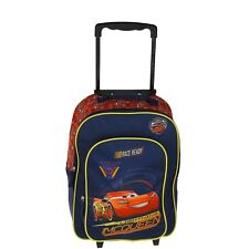 "Disney Kindertrolley Kinderkoffer 2 Rollen ""cars"" DUNKELBLAU"