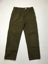 Women's Levi 'MOM' Jeans - W36 L30 - Green Wash - Great Condition