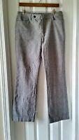 Lauren Ralph Lauren Women's Dress Trousers Slacks Pants 8 Glen Plaid