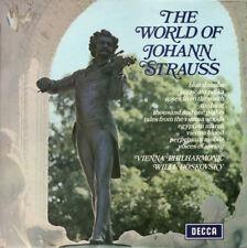 1969 Johann Strauss* – The World Of Johann Strauss Vinyl LP 黑膠唱片 Romantic