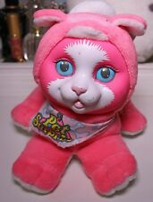 Vintage 1993 Hasbro Pet Surprise Hot Pink KITTY CAT Working Meows Scarf 90's Toy