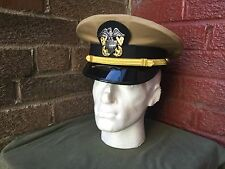 WW2 US Navy officers visor cap,  size 60