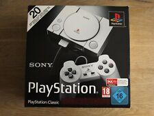 Sony Playstation Classic 1 Konsole mit zwei Controllern OVP neuwertig 20 Spiele