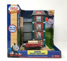 Thomas the Train and friends Wooden Railway Sodor Paint Factory gift Christmas