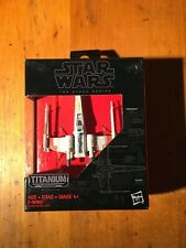 Star Wars Black Series Titanium Series X-Wing Fighter 07 Factory Sealed Rare