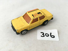 RARE VINTAGE MAJORETTE MINI MOTOR FIAT 131 SEDAN DIECAST PULL BACK TOY CAR