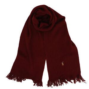 Polo Ralph Lauren Merino Wool Scarf -- 3 colors --