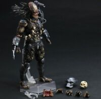 Play Arts Kai Predator 27cm PVC Action Figure Statue New in Box