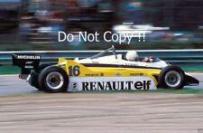 RENE ARNOUX RENAULT RE30B Winner Italian Grand Prix 1982 Fotografia