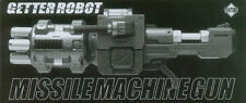 ARTSTORM FEWTURE EX GOKIN Getter Cannon / Missile Machine Gun for 1st Release