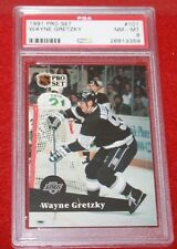 Wayne Gretzky (Kings) - 1991 Pro Set #101 - PSA 8 (NM-MT)