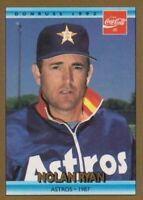 1992 Donruss Coca-Cola Nolan Ryan Baseball #21 Nolan Ryan Houston Astros