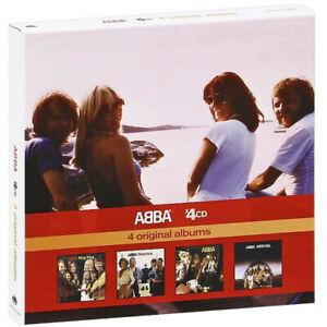 Abba 4 Original Albums (2010) Remasterisé Réédition 4-CD Coffret Neuf/Scellé