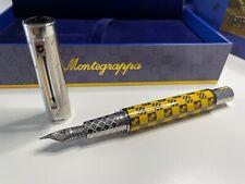 Montegrappa - Harry Potter Hufflepuff - Füllfederhalter *NEU & Orginalverpackt*