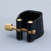 Professional Bb Clarinet Black Leather Ligature Mouthpiece Fastener YG