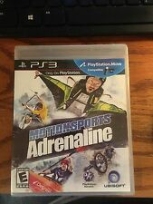 Motionsports Adrenaline (Sony PlayStation) PS3 Brand New Sealed MOVE Compatable
