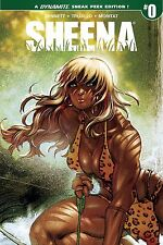 SHEENA #0 CVR B 25 COPY MORITAT SNEAK PEEK INCENTIVE COVER BY DYNAMITE COMICS