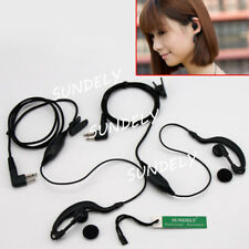 2x New Clip Headset/Earpiece for Motorola Radios FD-450A FD-160A FD-460A FD-150A