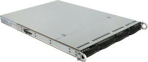 Supermicor 1u 4 Bay LFF Server H8DGU-F 2x AMD 6262 16 Core 48GB Ram 4 Caddy Rail