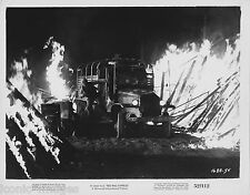 ORIG. 1952 MOVIE STILL-RED BALL EXPRESS-DRAMA-WAR-FIRE-TRUCK-SOLIDERS-MILITARY