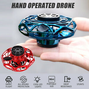 Mini RC Drohne Hand UFO Quadcopter Fliegen Induktions Flugzeuge Spielzeug Kinder