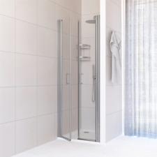 Box doccia per nicchia porta saloon cristallo 6 mm trasparente