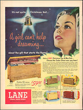 1950 Vintage ad for LANE Cedar Hope Chest`Art Bride Multi-Styles Pictures