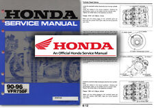 Honda motorcycle repair manuals literature ebay honda vfr750f service workshop repair shop manual vfr 750 1990 onwards vfr750 fandeluxe Images