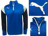 Puma Golf 1/4 Zip Pullover Mid Layer - Royal Blue - SMALL MEDIUM & LARGE