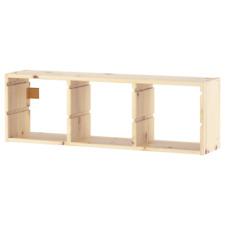 IKEA TROFAST Wandaufbewahrung Gleitschienen Aufbewahrung Regal Kiefer 93x30 cm