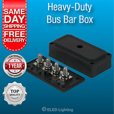 Boat electrical lighting products ebay bus bar power distribution box terminal block 12v 24 v 300 amp heavy duty new publicscrutiny Gallery