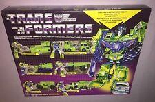 Transformers Vintage G1 Constructicon Devastator ReRelease Walmart Exclusive NEW