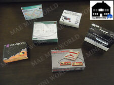 6 Miniature Vintage Video Game Console pack; Famicom,MasterSystem, Neo-Geo...CAN