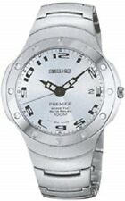 Seiko Men's Watch SMA181 Premier Kinetic Auto Relay