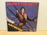 "Adam & The Ants – Antmusic - 7"" Vinyl Single – 1980 -REF.8163"