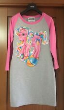 VESTITO MOSCHINO COUTURE TG 40 XS MY LITTLE PONY PINK DRESS NEW TAGS ABITO NUOVO