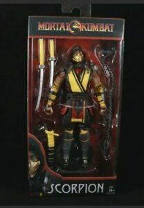 McFarlane Toys Mortal Kombat 11 Series 1 Scorpion Yellow Figure Original NEW!